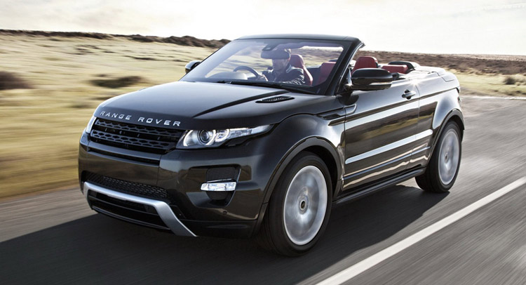 Range Rover Evoque Convertible Unveil Coming In November Land Rover Little Rock