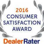2016 Dealer Rater Consumer Choice