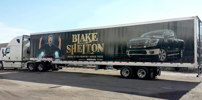 Blake Shelton & Nissan