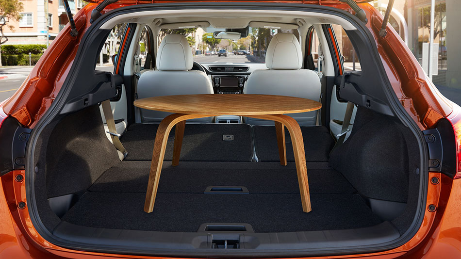 Cargo Room in the Nissan Rogue Sport