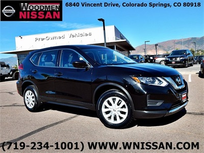 CERTIFIED 2017 Nissan Rogue S AWD