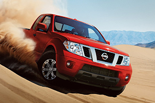 Rent a Nissan Frontier