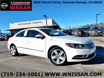 Pre-Owned 2015 Volkswagen CC 2.0T Sport FWD 4D Sedan