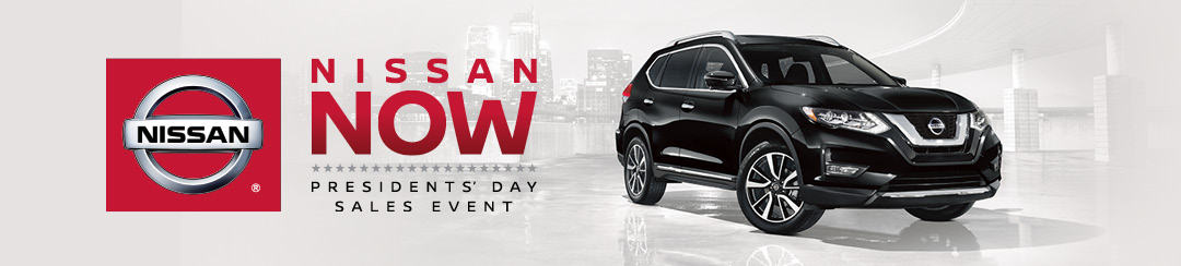 Nissan Now Presidents' Day Sales Event logo